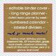 Editable Teacher Lesson Planner 2016 - 2017 School Year {