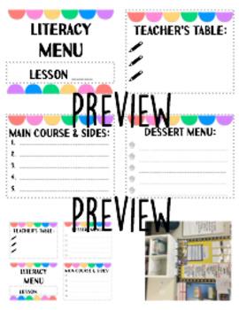 Teacher Binder / Lesson Planner Bundle