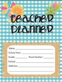 Teacher Lesson Planner Kit--Printable