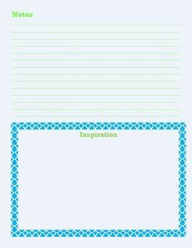 Teacher Lesson Planner Outline