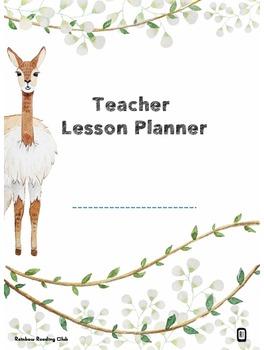 Teacher Lesson Planner & Printables