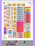 Teacher Lesson Planner Stickers for the ErinCondren Teache