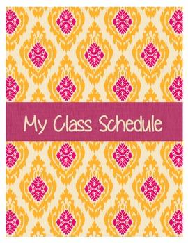 Teacher Lesson Planner/Organizer