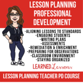 Teacher Lesson Planning Course: Teacher Professional Development