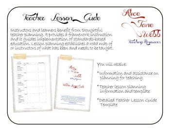 Teacher Lesson Planning Guide