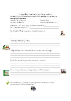 Teacher Letter of Recommendation Time-Saving Guide (English and Spanish)
