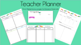 Teacher Librarian - Planner Pages - Tribal Theme