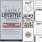 Teacher Lifestyle Planner - Wild Chic Edition