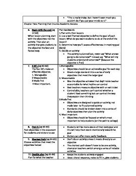 Teach Like a Champion Summary Notes