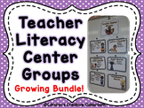 Teacher Literacy Center Rotation Posters