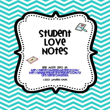 Student Love Notes