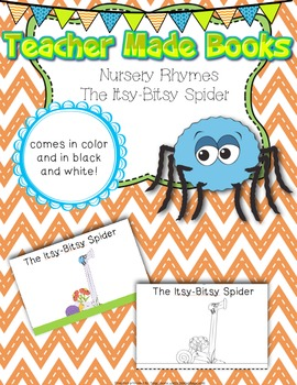 Teacher Made Book on Nursery Rhymes (The Itsy-Bitsy Spider)