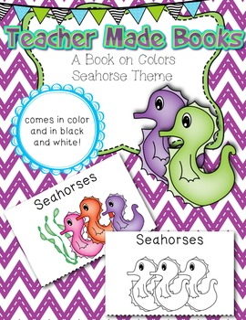 Teacher Made Book on the Colors (Seahorses)