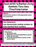 Teacher Made Center-Read & Write to Find Standard Form-Hun