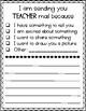Teacher Mail Template