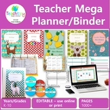 Teacher Mega Planner 2018