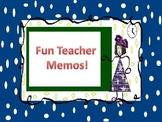 Teacher Memos Letter Head Design
