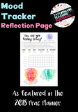 Teacher Mood Tracker - Reflection Page