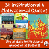 Teacher Morale Inspirational Quotes and Sayings Set 2