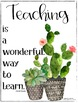 Teacher Morale Posters - C. Dweck Quotes
