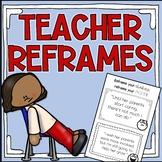Teacher Morale Positive Thinking