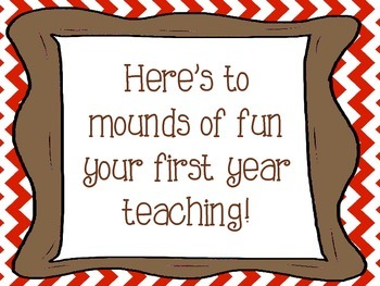 Teacher Motivation Treats: Back to School