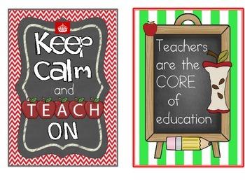 Teacher Motivation and Inspirational Quotes- Teacher Appreciation