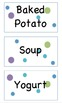 Lunch Choices - Polka Dot