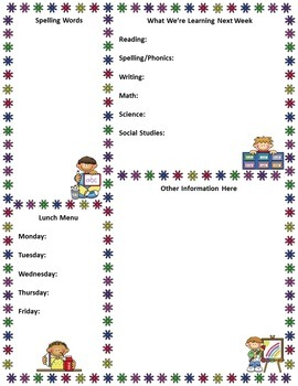 Free Editable Teacher Newsletter Template by Mrs Magee | TpT