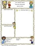 Teacher Newsletter Template - Fairy Tale Themed