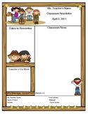 Teacher Newsletter Template - Western Cowboy Theme