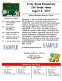 Teacher Newsletters Templates-Editable (August-December)