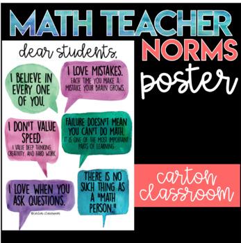 Math Teacher Poster