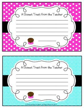 Teacher Note Home Template