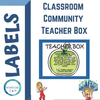 Teacher Note Box Label
