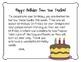 Teacher Note for Birthday Book Bag