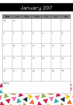 Teacher Notebook - bright triangles - Sept 2016 to June 2018