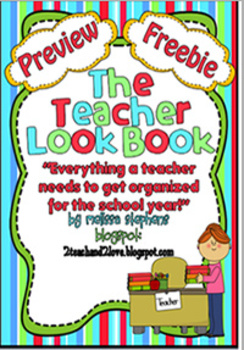 Teacher Notebook/Binder