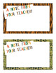 Teacher Notes APT-001