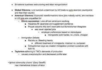 Teacher Notes, American Gov, Globalization, International Relations, and more