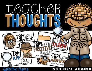 Teacher Notes - Detective Theme