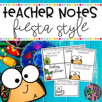 Teacher Notes Fiesta Style