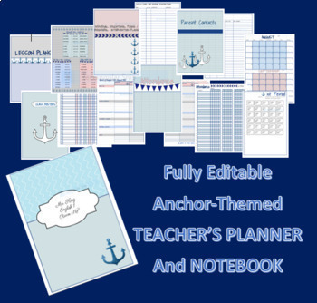 Teacher Online Lesson Plans and Complete Notebook