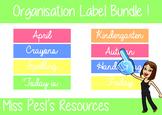 Teacher Organisation Labels !