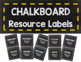 Teacher Organisational Resource Labels for Magazine Files Holder