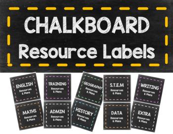 Teacher Organisational Resource Labels for Magazine Files Holder