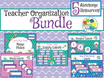Teacher Organization BUNDLE in Candy Shop Theme