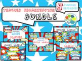 Teacher Organization BUNDLE in Comic Book Theme