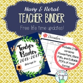Teacher Organization Binder 2017-2018 (June 2017 - July 20