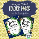 Teacher Organization Binder / Planner Covers Only (2018-2019, 2019, & Blank)